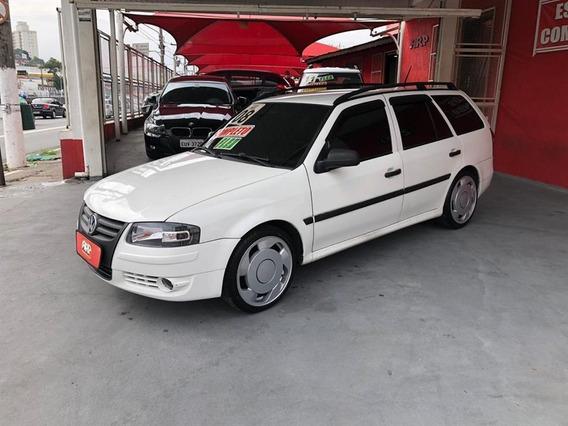 Volkswagen Parati Plus 1.6flex Manual 2008 Branca Completa