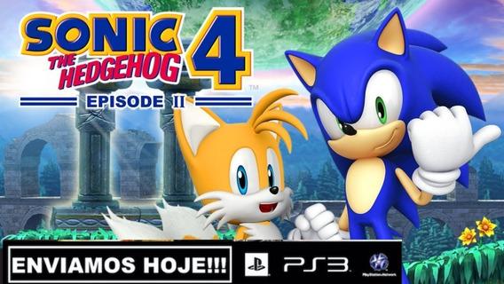 Sonic The Hedgehog 4 Episode Ii Jogos Ps3 Psn Enviamos Hoje