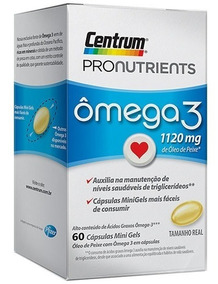 Centrum Ômega 3 Pronutrients C/ 60 Cápsulas
