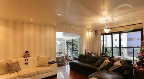 Apartamento Com 4 Dormitórios À Venda, 226 M² Por R$ 1.750.000,00 - Perdizes - São Paulo/sp - Ap22103