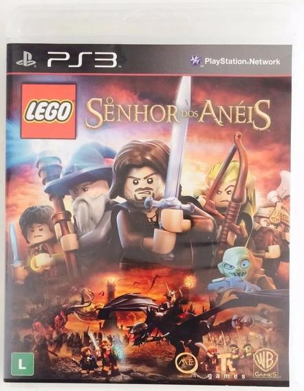 Lego Senhor Dos Anéis - Jogo + Dvd Ps3 - Português