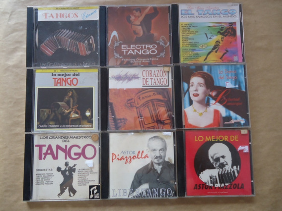 Lote Com 16 Cds Diversos Tango Astor Piazzolla Carlos Lombar