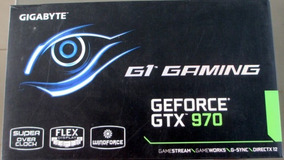 Placa Video Gigabyte Geforce Gtx 970 4gb Gddr5 Oc Windforce