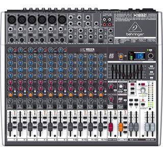 Mesa De Som Behringer Xenyx X1832 Usb Mixer C/ Efeitos