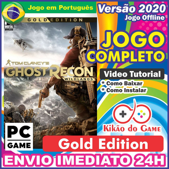 Ghost Recon Wildlands - Gold Edition - Br Pc - Envio Digital