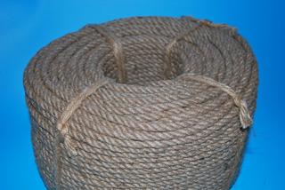 Cordel / Cuerda Cañamo Yute Natural (6mm X 100m) (2 Un)