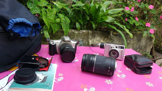 Camera Fotografia Duas Canon Não Foram Testadas