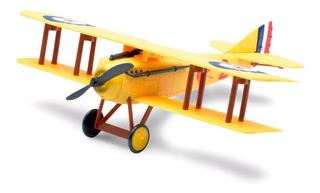 Avião Brinquedo - Kit Montar Avião Spad S.vii Biplano Amare