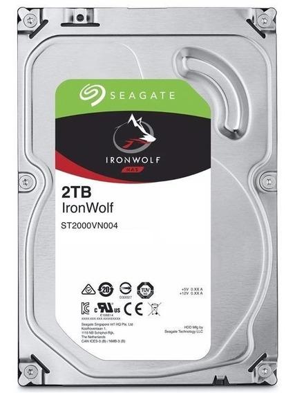 Hd 2tb Seagate Iron Wolf Nas Backup Sata3 64mb
