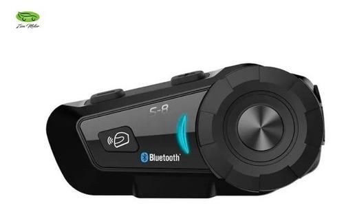 Intercomunicador Bluetooth Moto Scs S8 Radio Fm Casco
