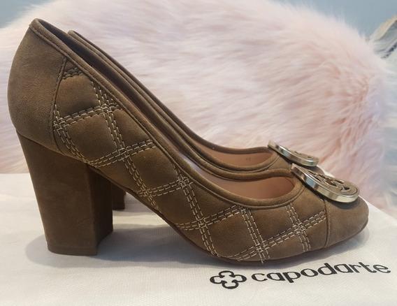 Sapato Scarpin Capodarte Matelasse