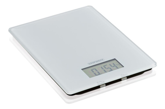 Balanza De Cocina Vidrio Digital Leifheit Ultra Delgada 5kg