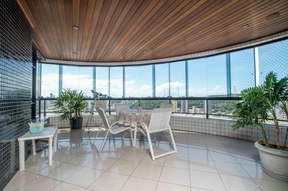 Apartamento Em Tirol, Natal/rn De 268m² 4 Quartos À Venda Por R$ 990.000,00 - Ap275657