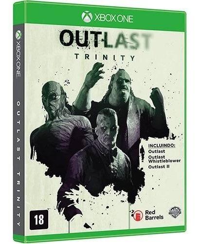 Jogo Outlast Trinity Xbox One Mídia Física Lacrado Português