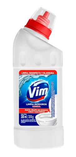 Limpiador Para Inodoros Vim Gel Aroma Original X 300 Ml