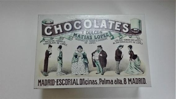 Caja De Zinc Chocolates