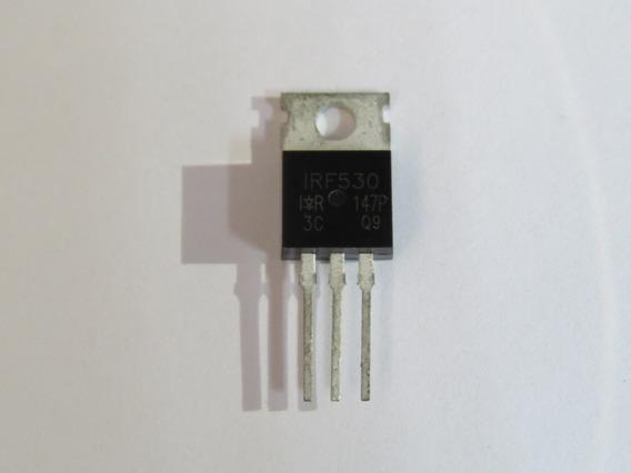 Transistor Irf530 - Original - Kit Com 10 Peças