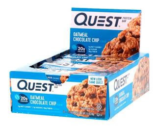 Quest Bar Caixa Com 12 Unidades - Todos Os Sabores