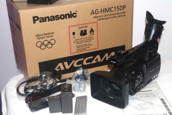 Filmadora Panasonic Hmc150 Novíssima Apenas 33 Horas De Uso