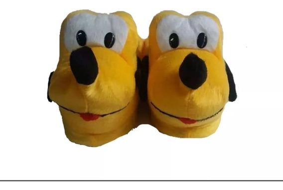 Pantufa Plluto Cachorro Amarelo Revenda Barato Imperdível