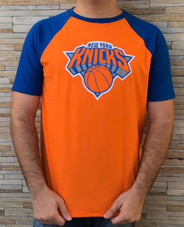 Camisa Nba New York Knicks Camiseta Basquete T-shirt