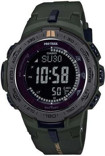 Reloj Protrek Hombre Negro Prw-3100y-3dr