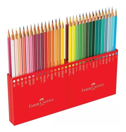 Lapices De Colores Largos X60 Faber-castell Nuevo