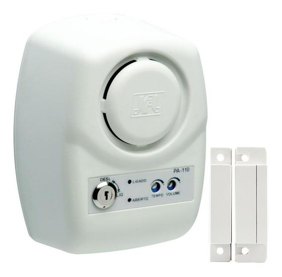 Sensor Porta Aberta Acionamento De Portão Pa-110 Jfl + Sa