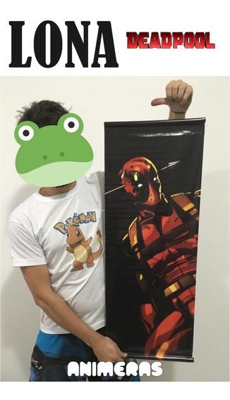 Lona De Deadpool Flecha Para Colgar - Animeras