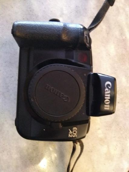 Câmera 35mm Analógica Canon A2 Com Alça Original