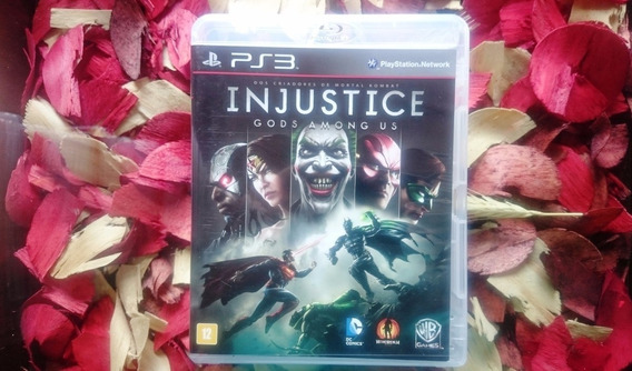 Injustice Gods Among Us - 100% Português - Ps3