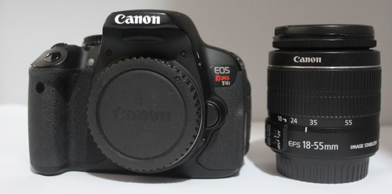 Camera T4i + Objetiva 18-55mm Semi Nova