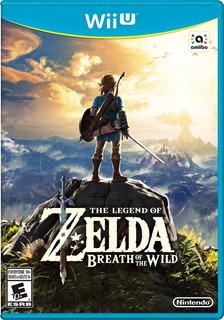 Wii U The Legend Of Zelda Breath Of The Wild