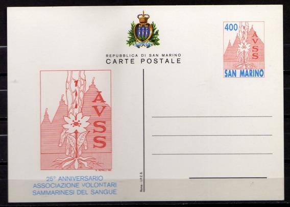 Numismza : San Marino Entero Postal Nuevo ( S 399) Oferta