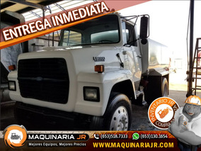 Camion Pipa De Agua Ford 1988 2,000 Gal, Camiones