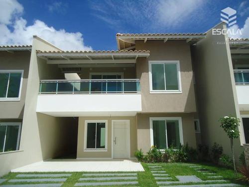 Imagem 1 de 30 de Casa À Venda, 168 M² Por R$ 625.000,00 - Tamatanduba - Eusébio/ce - Ca0086