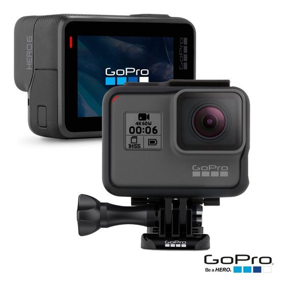 Câmera Digital Gopro Hero 6 Black 12 Mp, 4k - Chdhx-601