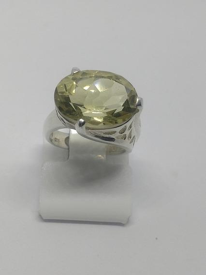 Anel Em Prata 925 De Bali E Pedra
