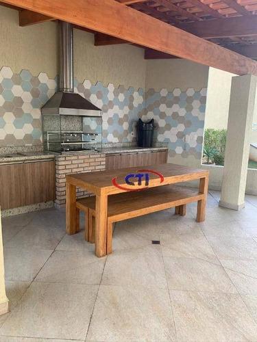 Apartamento Com 3 Dormitórios À Venda, 193 M²  Vila Bocaina - Mauá/sp - Ap3485