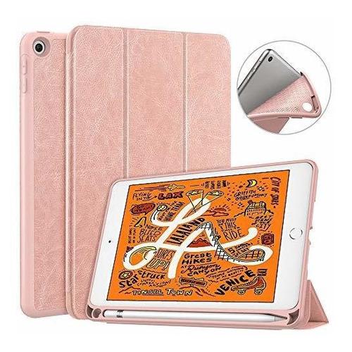Dadanism iPad Mini 5 Case 2019 Con Portalapices, [proteccion