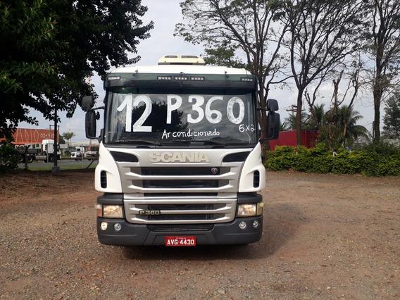 Scania P360 6x2 Ano 2012 Caminhão Único Dono
