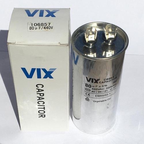 Capacitor Permanente 80uf | 440v Vix