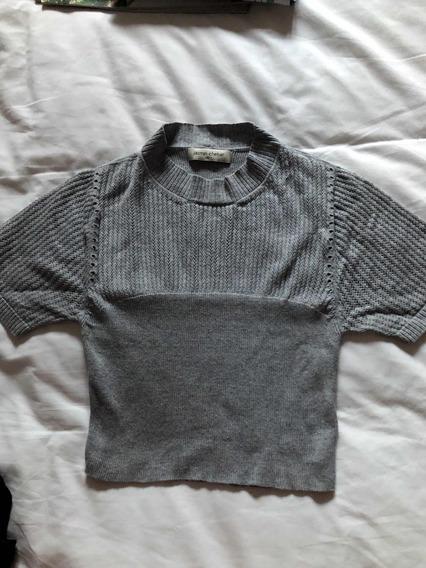 Pullover Jazmin Chebar T S Gris
