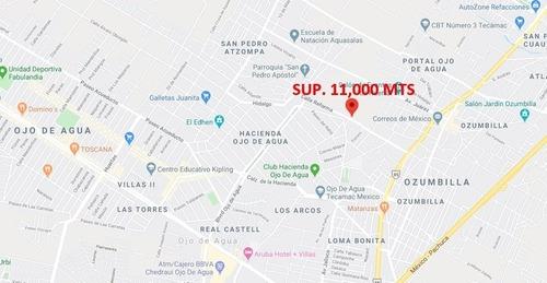 Terreno Reforma, Hacienda Ojo De Agua, Tecamac 11,000 Mts
