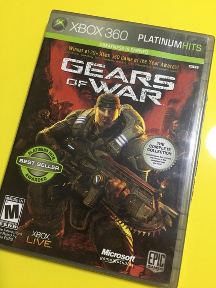 Gears Of War Xbox 360 Midia Fisica