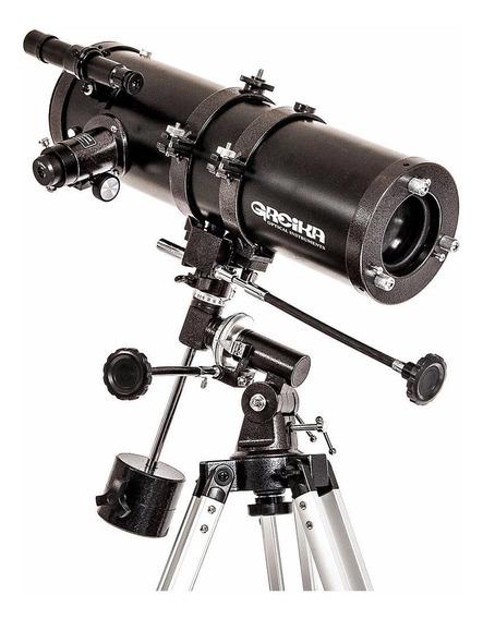 Telescópio Newtoniano Equatorial 1000x114mm Greika