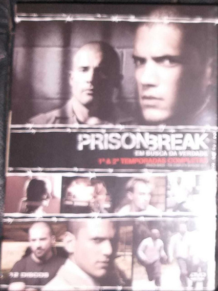 Prison Break Dvd Temp. 1/2/3/4 + Filme Originais E Lacrados