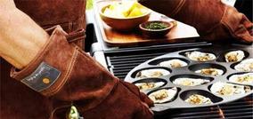 Grillstore - Guantes De Cuero Mr. Grill