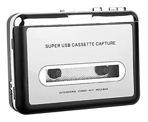 Convertidor De Cassette A Mp3 Usb Digital