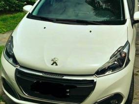 Peugeot 208 - 2017 - Allure Branco, 1.2 Flex - 4p - 2017